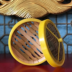 Steamed Bamboo Basket Set