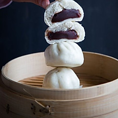 Frozen Red Bean Buns 冷凍豆沙包(3pc)