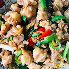Chicken Soft Bones with Ginger Sauce 雞軟骨