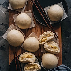 Steamed Custard Buns 奶黃包