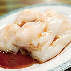 Steamed Prawn Rice Rolls 鮮蝦腸粉