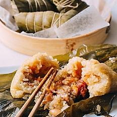 Zongzi Cantonese Style Rice Dumpling 粵式風味鹹蛋黃肉粽