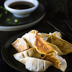Pan Fried Pork Dumplings 煎餃