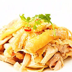 Shredded Young Chicken with Wuma and Sesame Oil Dressing (half)