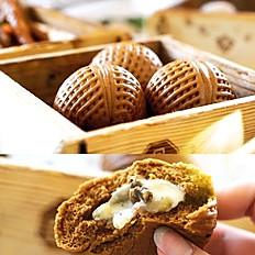 Walnut and White Chocolate Buns 核桃包