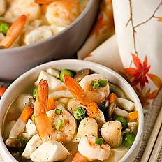 Seafood and Tofu Cassrole