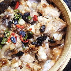Steamed Pork Spareribs with Black Bean Sauce 排骨