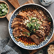 Spicy Beef and Tripe (cold dish)