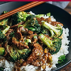 Stir Fried Beef with Vegetables with Rice