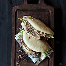 Crispy Tofu Bao Buns(2pc)