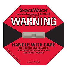 Shockwatch Sticker