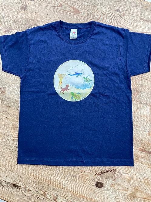 """T-Shirt """"Lena & die traurige Schildkröte Erna"""""""