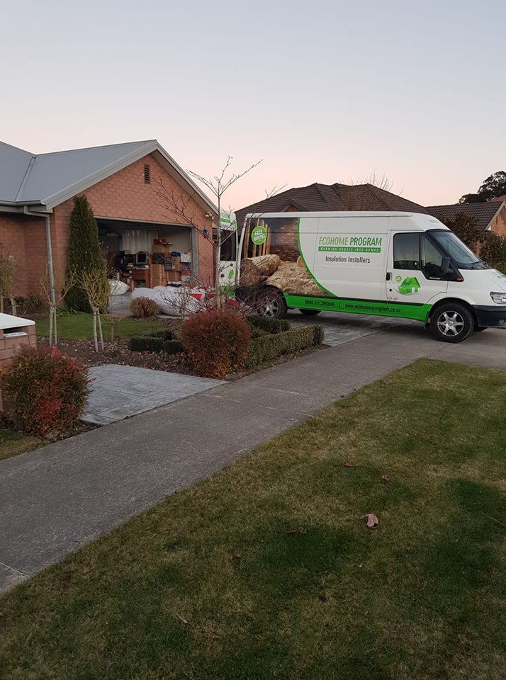 eco home insulation van