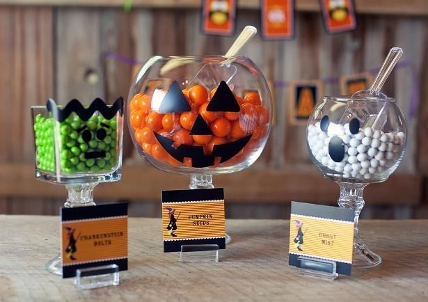 Halloween Sweet Jars