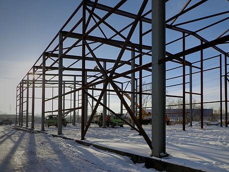 металлокаркас, стальные конструкции, сэндвич-панели, промышленная архитекутра, конструкции