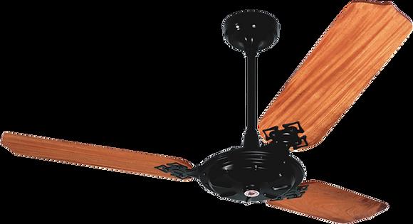 Ventilador de Teto em Mogno