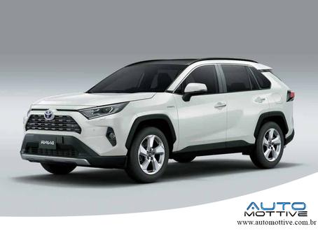 Sem alarde, Novo Toyota RAV4 chega híbrido e parte de R$ 165.990