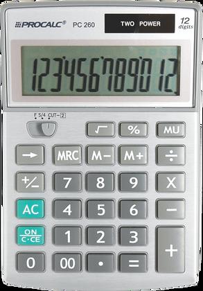 Calculadora de Mesa PC260