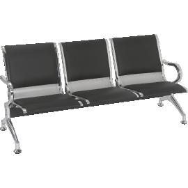 Cadeira Longarina 3 Lugares Mod. 2