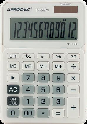 Calculadora de Mesa PC272 W