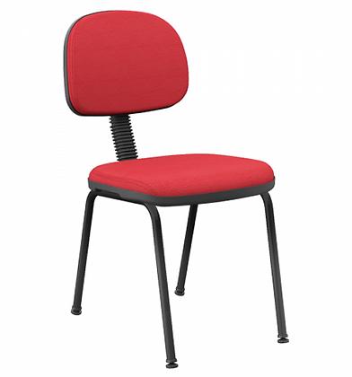 Cadeira Plus Slim Secretária 4 Pés