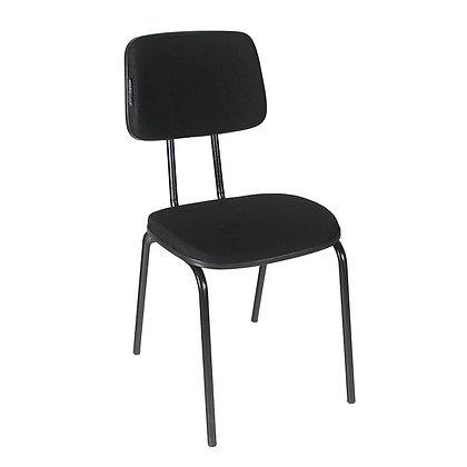 Cadeira secretária fixa sem braço