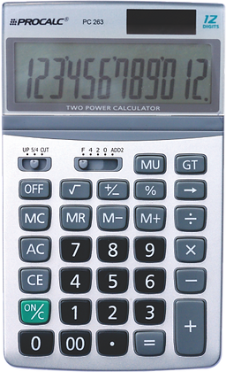 Calculadora de Mesa PC263
