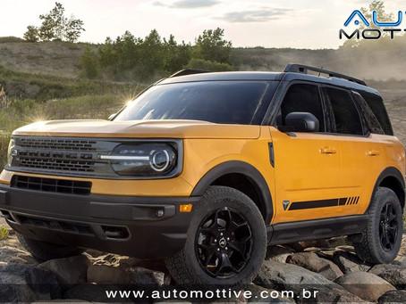 Ford Bronco Sport vem ao Brasil pra brigar com o Jeep Compass