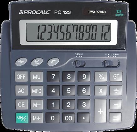 Calculadora de Mesa PC123