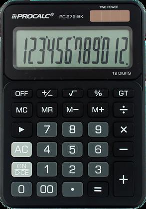 Calculadora de Mesa PC272 BK