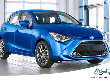 Toyota Yaris 2020 assume visual do Mazda2 no mercado americano