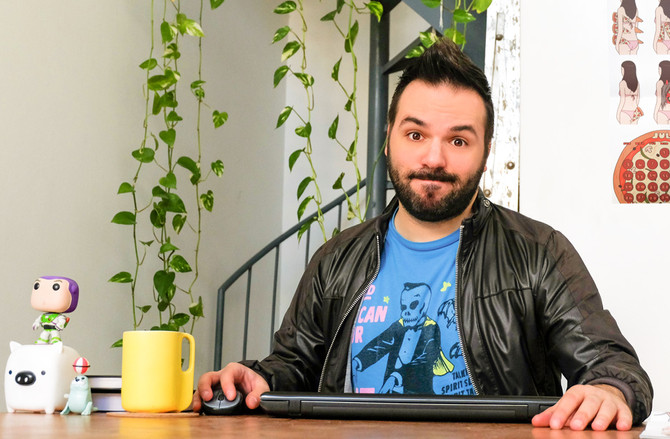 Baron Magazine interview (Axel Savvides, freelance graphic designer)
