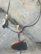Harpunenkopf aus fossilem Robbenknochen