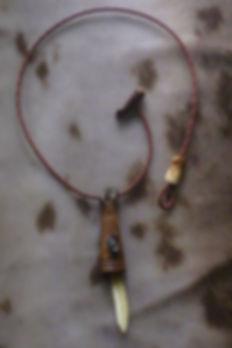 Amulett Vogelgöttin
