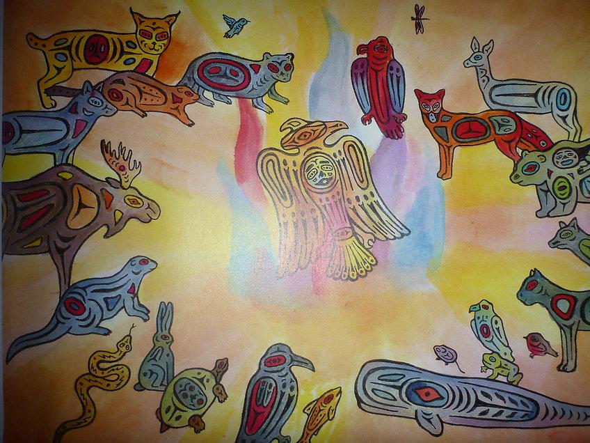 Tulugaqs Traum, eine Rabengeschichte,  www.tulukkap-anersaava.de / PeterStrauss / bonecarving / Natur /Schamanismus / Amulett / Spiritualität / Kambo / sapo / medicinasagrada / Knochenschnitzerei / Tiergeister / animalspirit / Krafttier / Totem/ Heilung/ schamanisches Amulett/ Kunst/ selfmade / Krafttieramulett               schichte,