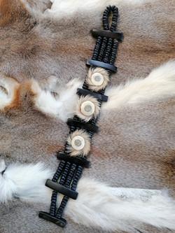 Armband / www.tulukkap-anersaava.de / PeterStrauss / bonecarving / Natur /Schamanismus / Amulett / S