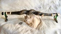 Redestab / www.tulukkap-anersaava.de / PeterStrauss / bonecarving / Natur /Schamanismus / Amulett /