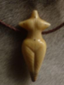 neolithische Göttin - Tulukkap Anersaava