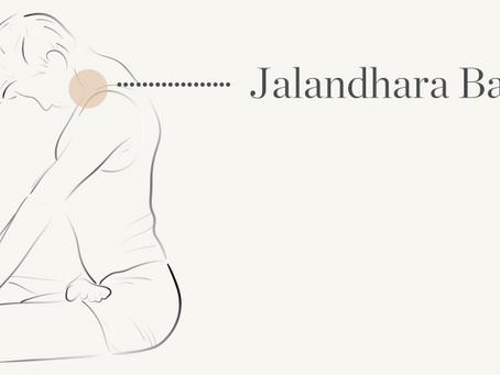 Jalandhara Bandha (throat lock)