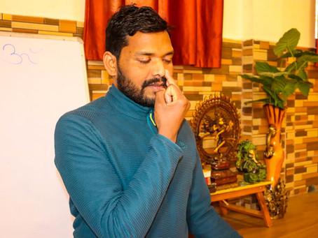 Surya Bhedana Pranayama (Vitality stimulating breath)