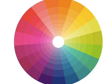 Munsell's Colour theory vs Colour Wheel (from the past)