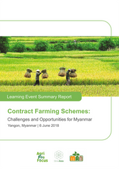 Contract Farming Schemes - Event Summary Report