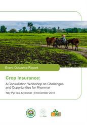 Crop Insurance - Event Summary Report
