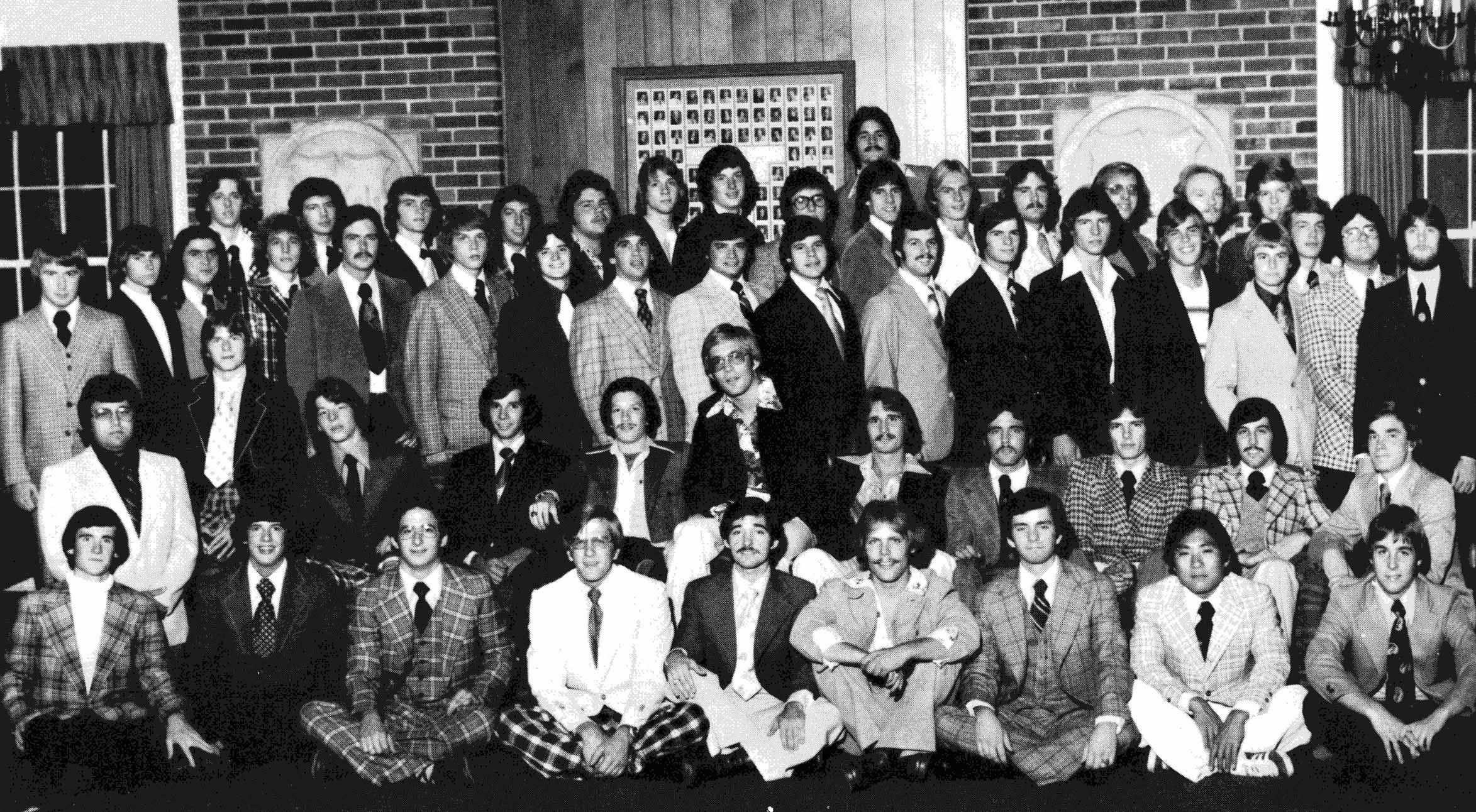 Bayh at IU 1974-75-a