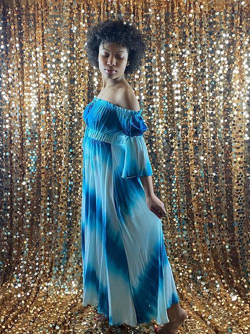 Water Dye Maxi Dress