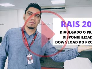 RAIS ANO BASE 2019 - Prazo de Entrega e Obrigatoriedade