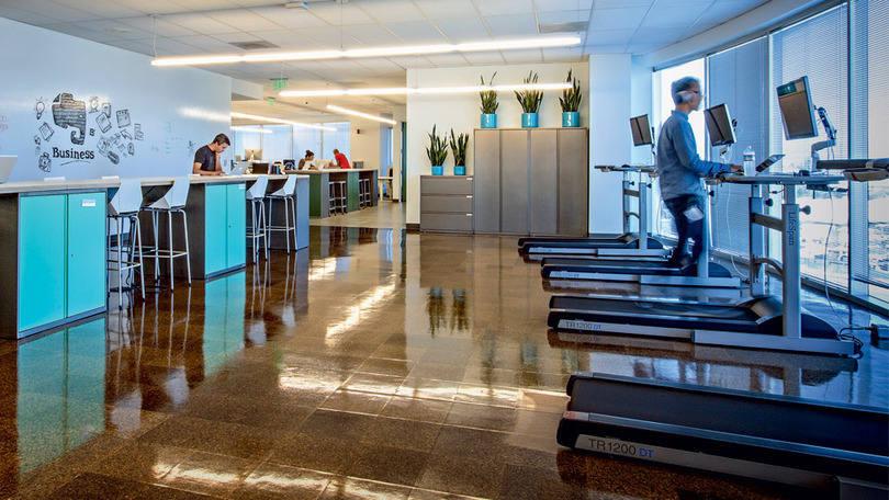 Escritório do Evernote: projeto arquitetônico foi criado com a ajuda dos próprios designers de arte da companhia em parceria com dois escritórios de São Francisco