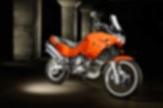 Light paintig Yamaha