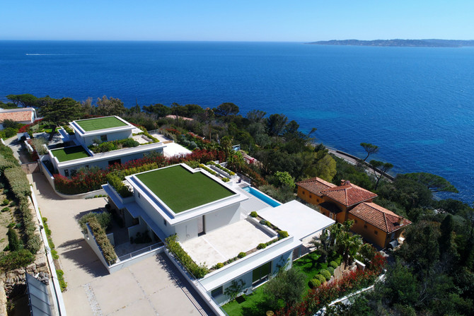 Villas contemporaines neuves Sainte-Maxime