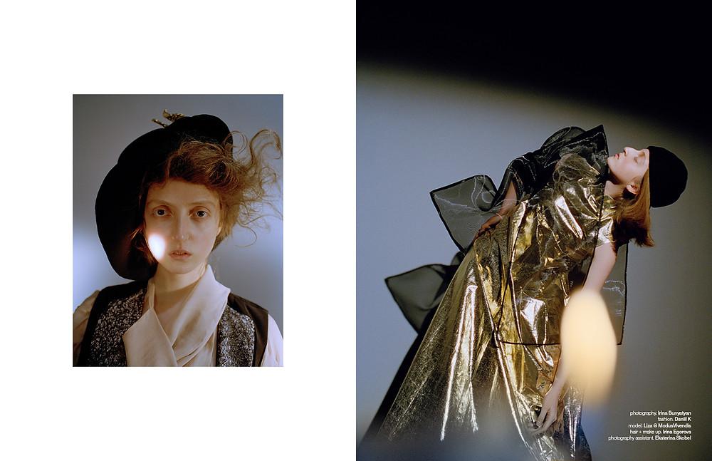 photography: Irina Bunyatyan, style: Daniil Kudryavtsev, hair & make up: Irina Egorova